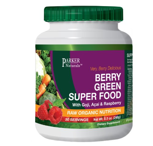 Berry Green Superfood With Goji Acai Amp Raspberry Raw