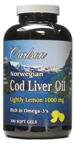 Carlson Cod Liver Oil Softgels Healthy Commodity Store
