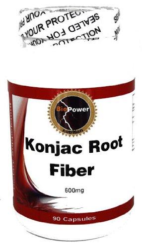 Konjac Root Fiber # 600 Mg 90 Capsules Konjac Root Fiber