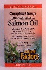 Natural Factors Complete Omega Salmon Oil