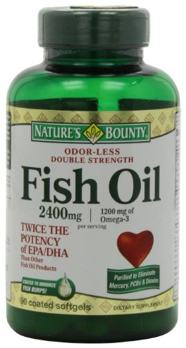 Nature S Bounty Fish Oil  Dha Content