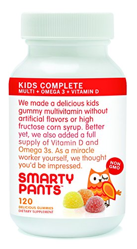 Smartypants vitamins gummy vitamins with omega 3 fish oil for Vitamin d fish